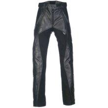 Richa Black Freedom Womens Motorcycle Leather Pants - UK 14
