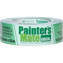 TAPE SPECIALTIES 103369 Painters Mate Green Masking Tape - 1 x 180 ft.