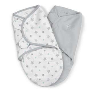Summer Infant Original Swaddle - Starry Skies - Small - 2 Pack