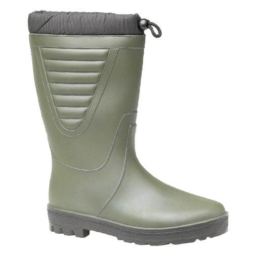 (6 UK, Green/Black) StormWells Unisex Tie Top Polar Boots