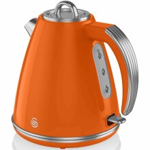 Swan Retro 1.5 Litre Orange Jug Kettle