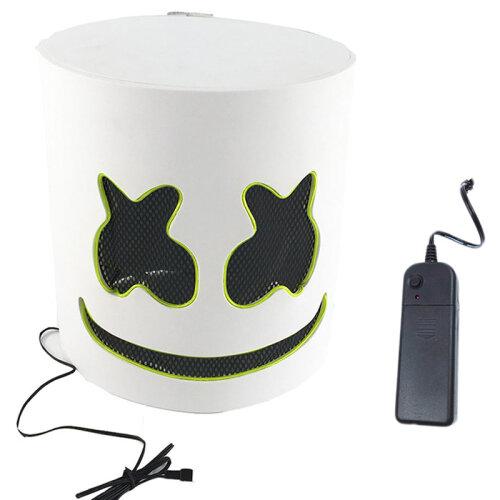 MarshMello Helmet LED Mask   Halloween Costume Mask