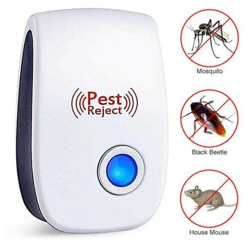 (1 Pcs) 1-6 PCS Ultrasonic Pest Repeller Control Electronic Repellent Mice Rat Reject