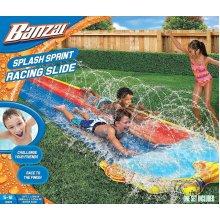 Banzai 16ft Splash Sprint Double Racing Water Slide