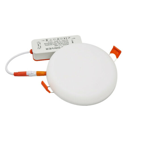 Rounded Slim LED Panel Ceiling Cool White Light Lighting Round 18W