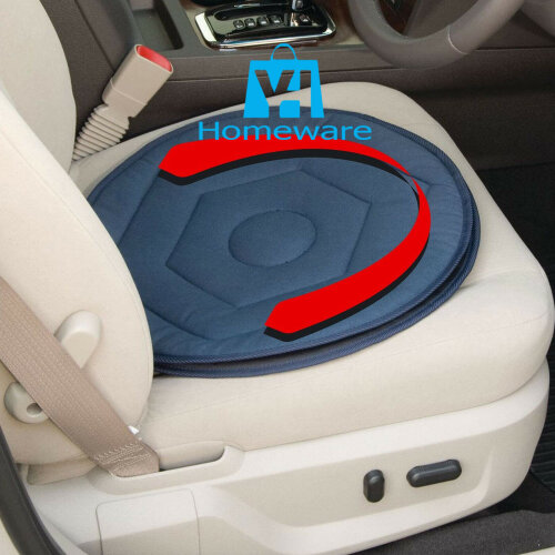 360° ROTATING SWIVEL CAR CHAIR SEAT CUSHION EASY ACCESS MOBILITY AID HOME OFFICE