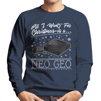 All I Want For Christmas Is A Neo Geo Men's Sweatshirt