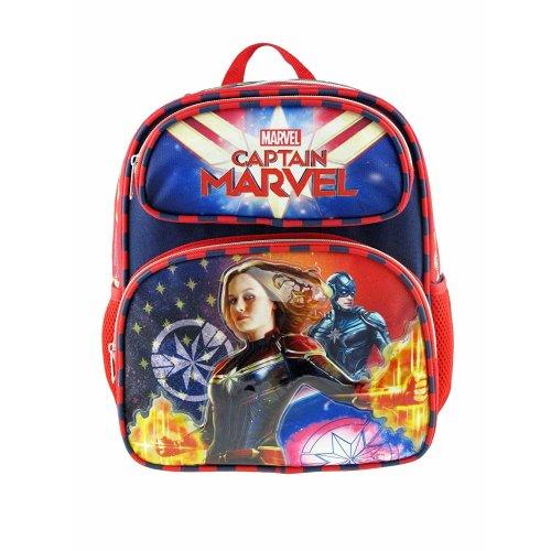 """Small Backpack - Marvel - Captain Marvel - Superhero Girl 12"""" New 008871"""