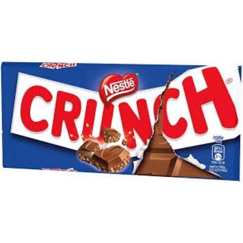 Crunch Milk Chocolate blue Sharing Bar 100g (20x 100g)