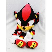 "Plush Backpack - Sonic The Hedgehog - Shadow Soft Doll 18"" New Toys sh12296"