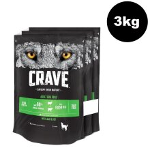CRAVE Dog Complete With Lamb & Beef 3x1kg