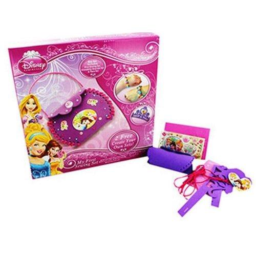 Disney Princess MY FIRST SEWING KIT - Friendship Bracelet / Tiara Set