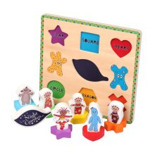 In The Night Garden Wooden Peg Puzzle 1303