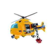 Dickie 203302003 Action Series Rescue Helicopter, Yellow