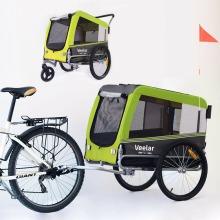 Veelar Large Pet Trailer & Stroller 2 in 1 Bike Trailer