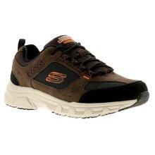 Skechers Oak Canyon Mens Trainers Chestnut/Black UK Size