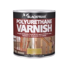 Blackfriar BF0250004E1 Polyurethane Varnish P45 Medium Oak Gloss 500ml