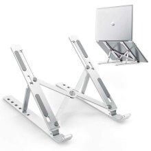 Ergonomic Laptop Stand Height Adjustable Folding