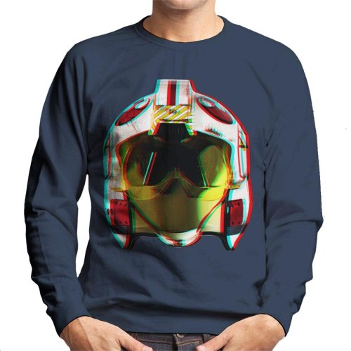 Original Stormtrooper Rebel Pilot Helmet 3D Effect Men's Sweatshirt