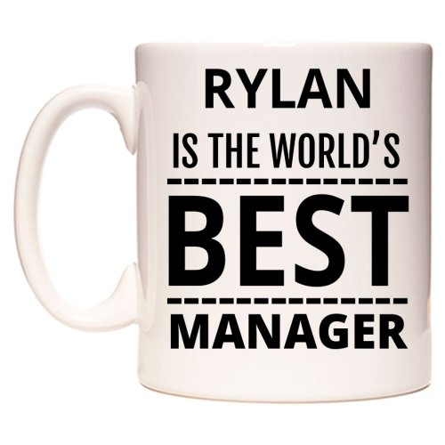 RYLAN Is The World's BEST Manager Mug