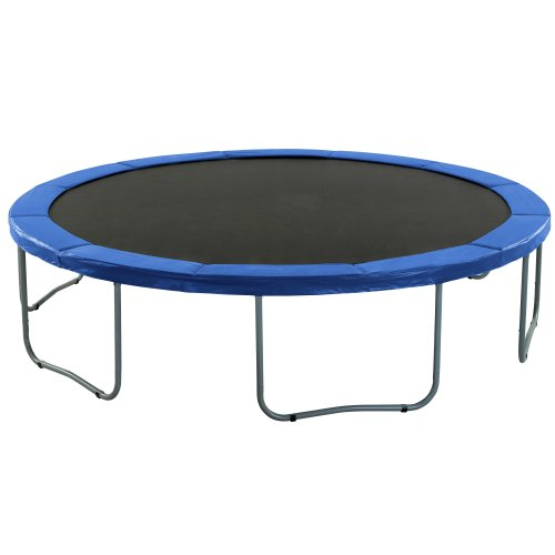 Premium Trampoline Replacement Safety Pad (Spring Cover) | Fits for 8 Feet Frames | Blue Colour Trampoline Padding for Maximum Safety