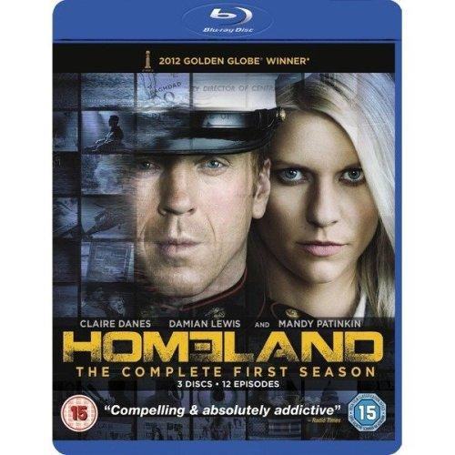 Homeland Season 1 Blu-Ray [2012]