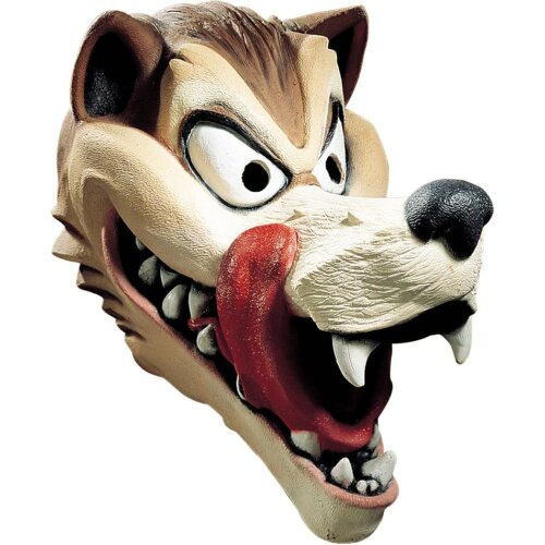Wolf Hungry Mask For Adults