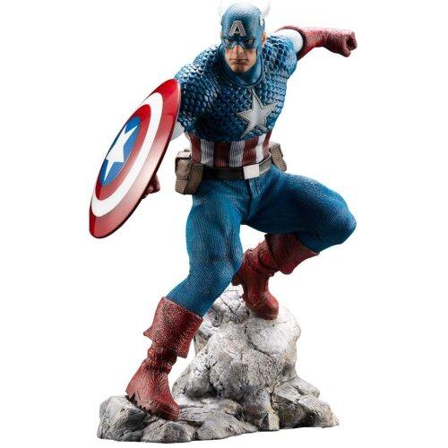 Marvel Universe Premier Captain America ARTFX Statue