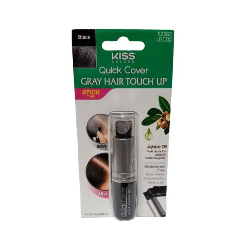 Kiss Quick Cover Touch Up Stick - Black