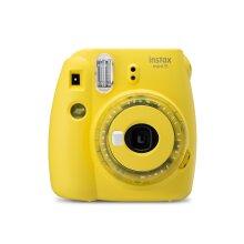 Fujifilm Instax Mini 9 Clear Yellow Instant Camera inc 10 Shots