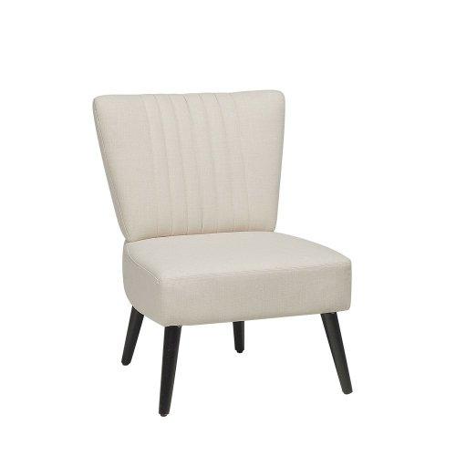 Fabric Armchair Beige VAASA