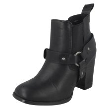 Ladies Coco Ankle Boots With Elasticated Gusset