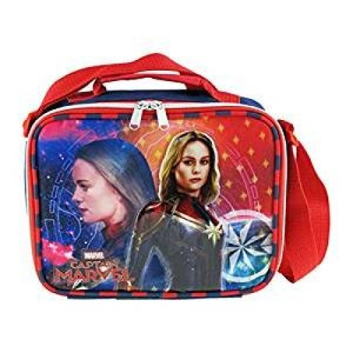 Lunch Bag - Marvel - Captain Marvel - Superhero Girl Kit Case 008864