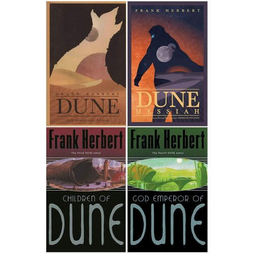 Dune Series 1 to 4 Book : 4 Books Collection Set