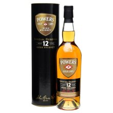 Powers Whisky Special Reserve Gold Label 12 Years