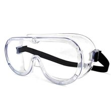 Safety Goggles Clear Wraparound Safety Glasses Eye Impacted Sealed Protective Work Goggles Over Spectacles for DIY Lab Grinding etc GENERAL PURPOSE