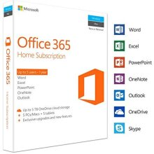 Microsoft Office 365 Home   5 Devices   1 Year   PC/Mac   Box