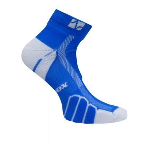 VT 0210 Ped Light Weight Running Socks, Royal - Large