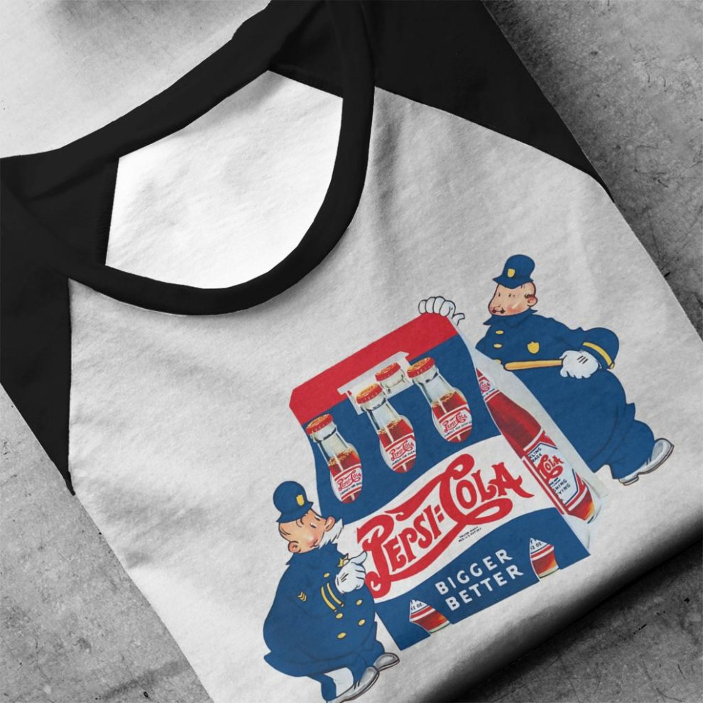 Pepsi Cola Cops Retro Men/'s T-Shirt