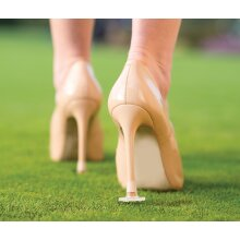 Clean Heels Heel Stoppers Petite Clear (stiletto protectors, covers)