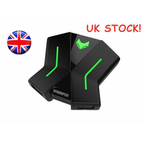 Ready Stock ! Pro-Kam LED Keyboard & Mouse Console Adapter PS4, Xbox One, Nintendo Switch, PS3