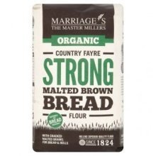 W & H MARRIAGE & SON - Organic Country Fayre Strong Malted Brown Bread Flour