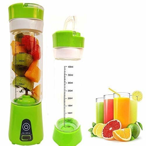 BLENDMIX Personal Blender, Portable Blender for Shakes and Smoothie, USB Juicer Cup Fruit Mixing Electric Rechargeable 4000mAH, 400ml Juice Cup, 6