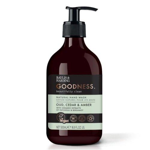 Baylis & Harding Hand Wash 500ml Oud, Cedar & Amber [GRHWOCA]