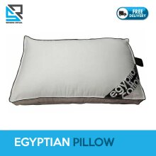 1Pc Egyptian Box Pillow Cotton Hollow Fiber Filling Box Shaped Pillow
