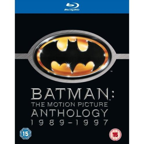 Batman - The Motion Picture Anthology 1989 - 1997 Blu-Ray [2009]
