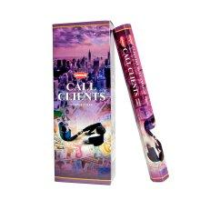 Krishan Incense - Call Clients Perfume Fragrance Aroma 120 Sticks