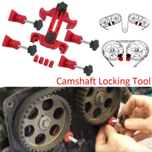 Universal 9pc Dual Cam Clamp Camshaft Timing Sprocket Gear Locking Kit Hand Tool