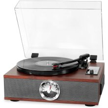 Victrola Park Avenue 5-1 Bluetooth Turntable Music Centre, Mahogany