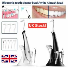 5 In1 Ultrasonic Electric Oral Teeth Clean Kit Tooth Polishing Cleaner